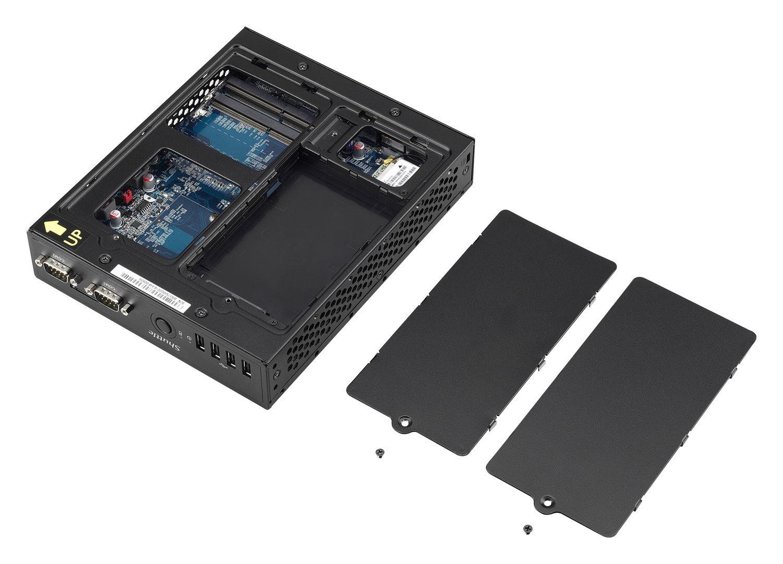Shuttle DS57U7 – Einbauplätze für DDR3L-RAM und 2,5-Zoll-Laufwerke einfach zugänglich