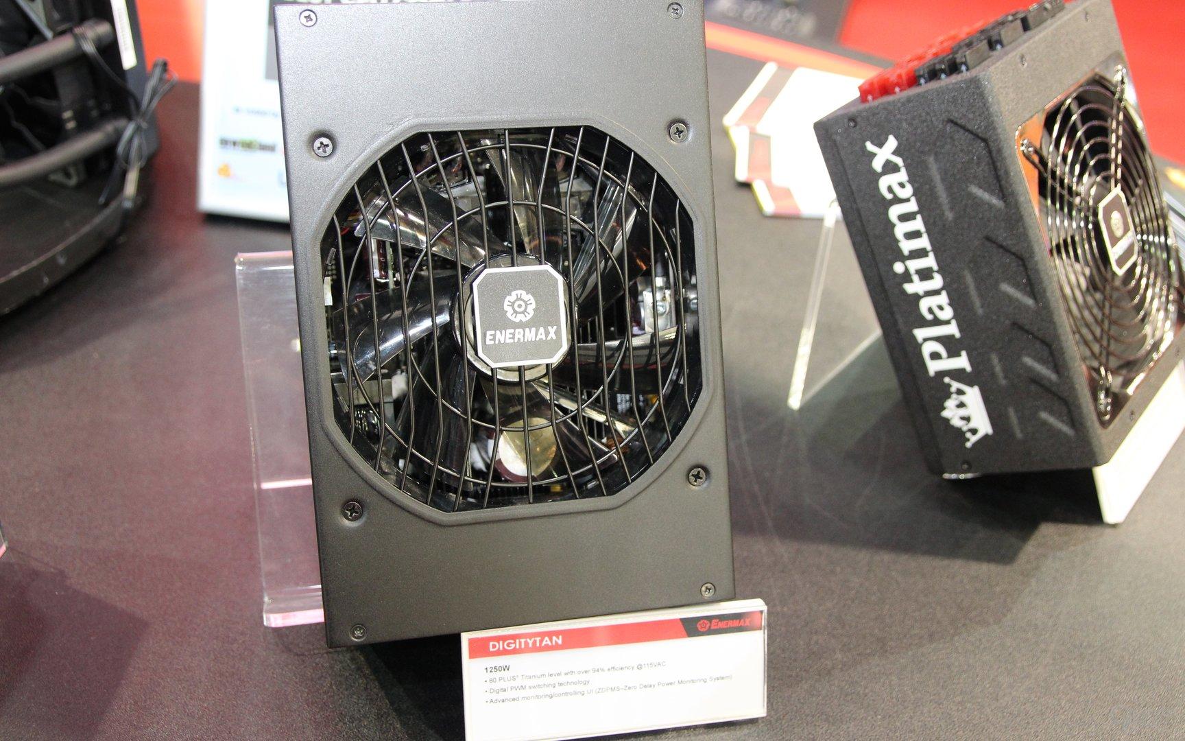 Enermax-Netzteile zur Computex 2015