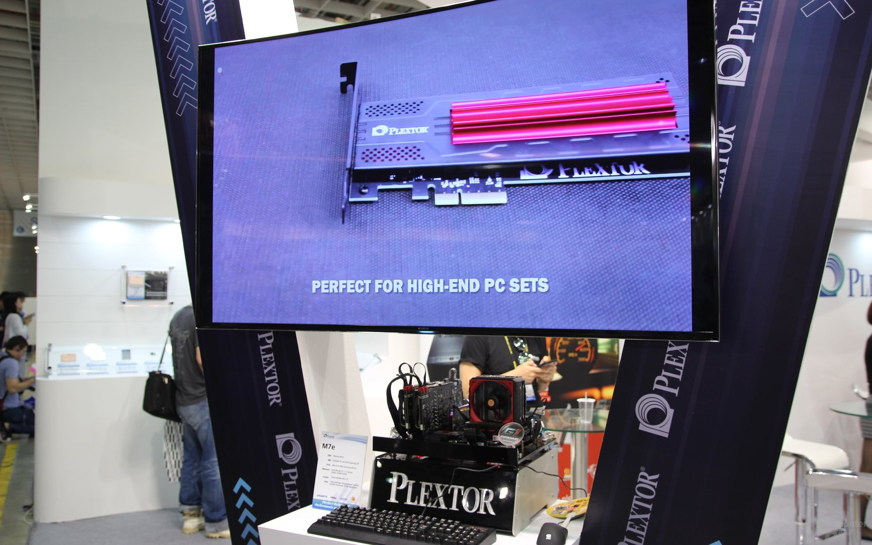 Plextor-SSDs zur Computex 2015