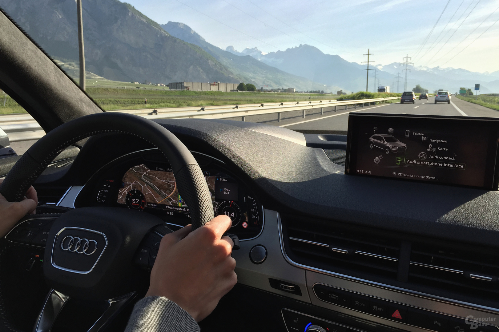 Audi Q7 – Interieur