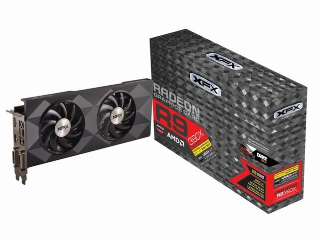 XFX Radeon R9 390X mit 8 GByte GDDR5-Speicher