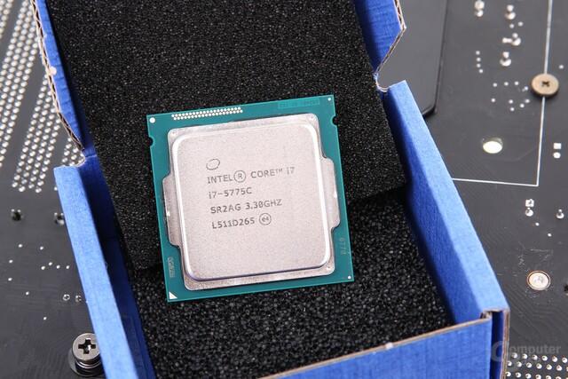 Intel Core i7-5775C in der Tray-Auslieferung