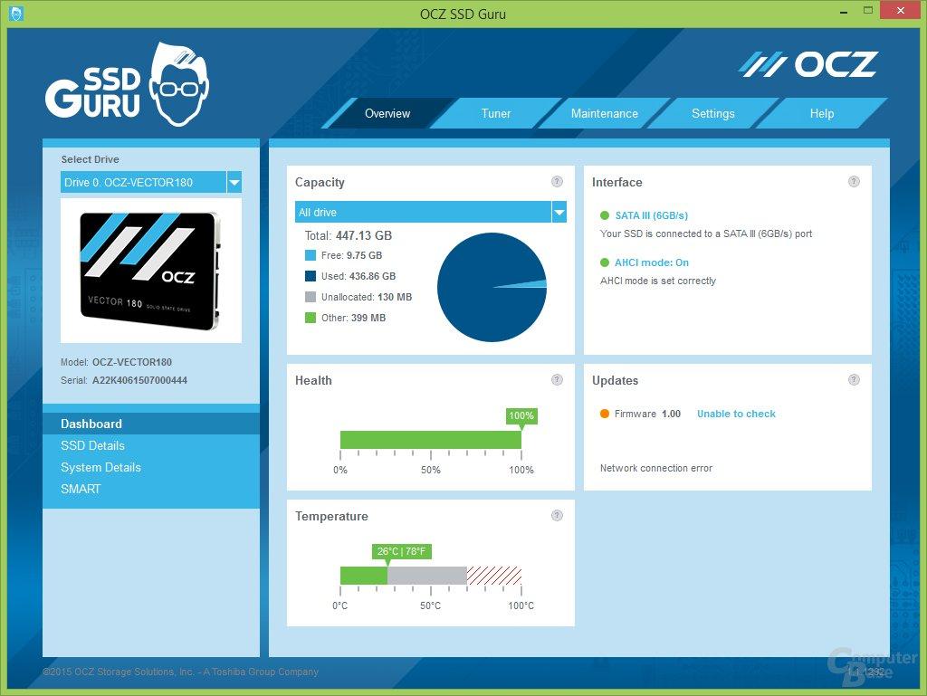 OCZ SSD-Guru im Überblick