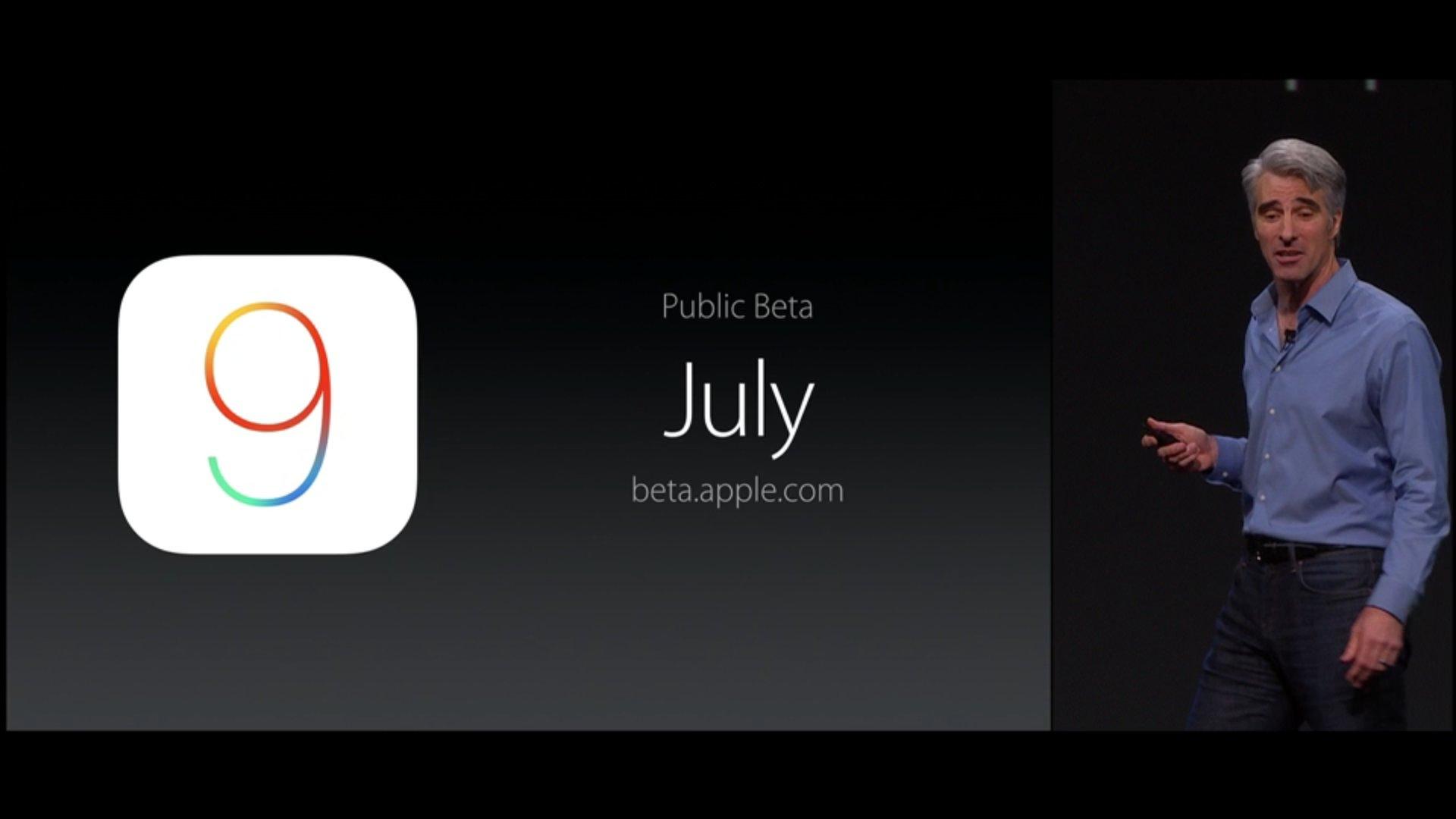 iOS 9 ab Juli als Beta