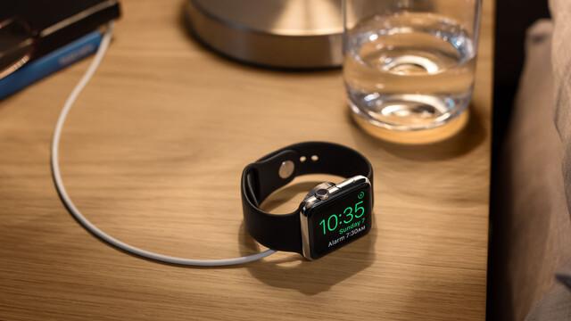 In der Nacht wird die Apple Watch zum Wecker