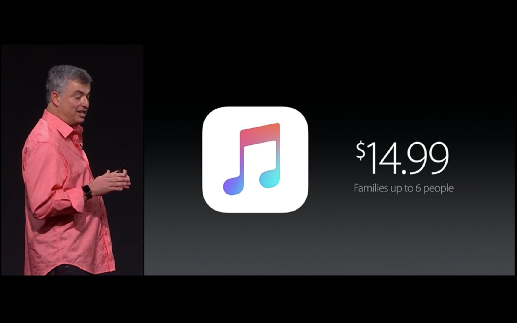 Apple Music – 14,99 US-Dollar für Familien