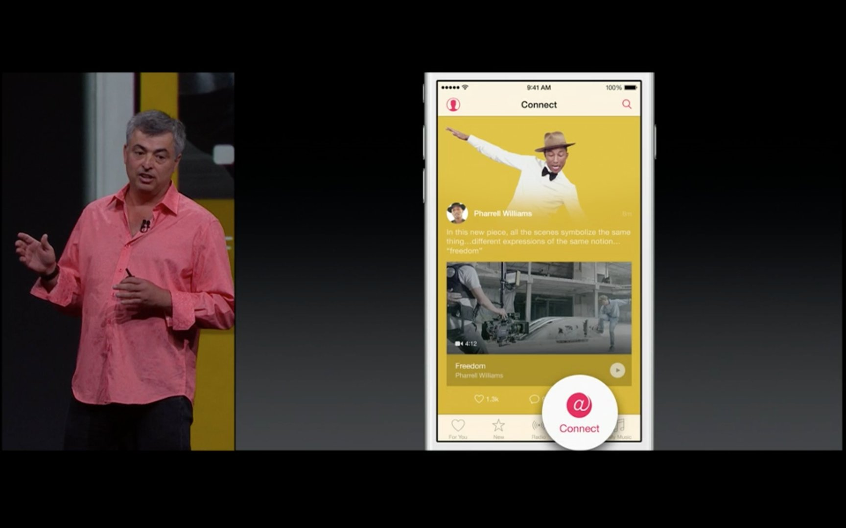 Apple Music – Connect