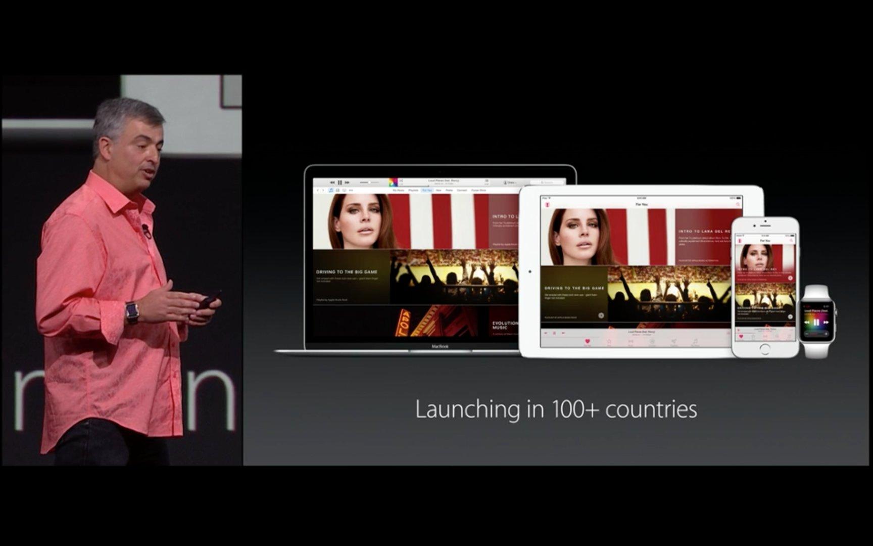 Apple Music – Zum Start in über 100 Ländern