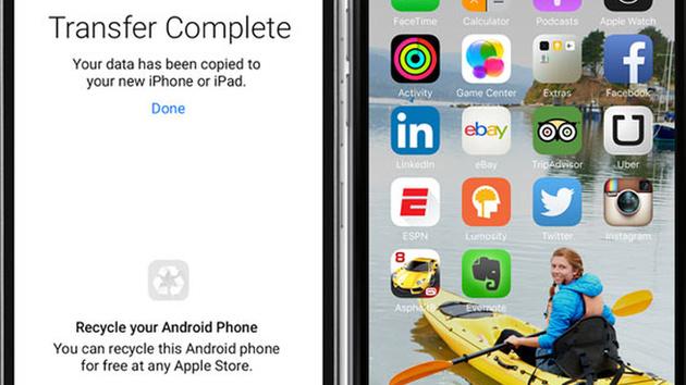 Move to iOS: Apple will den Wechsel von Android zu iOS leichter machen