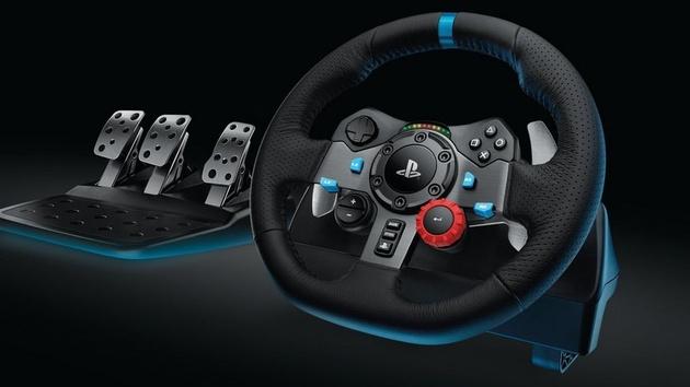 Logitech G29: Luxuslenkrad für PlayStation und PC kostet 400 Euro