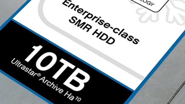 Ultrastar Archive Ha10: 10-TB-Festplatte von HGST erlangt Marktreife