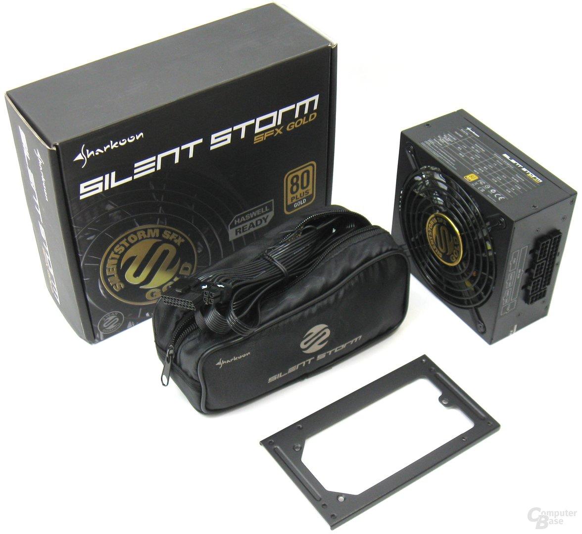 Sharkoon SilentStorm SFX Gold 500W