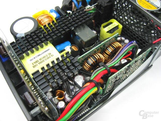 SilverStone SX500-LG – Sekundärseite
