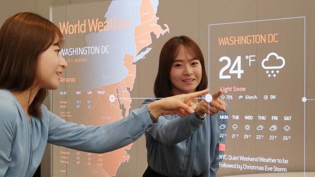 OLED: Samsung zeigt Spiegel‑Panel und transparentes Display