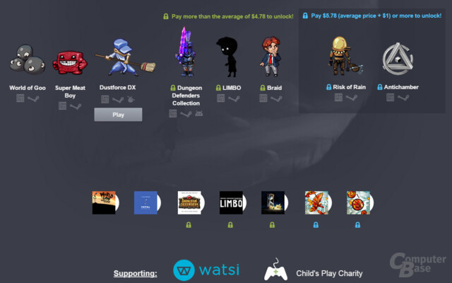 Humble Indie Bundle All-Stars