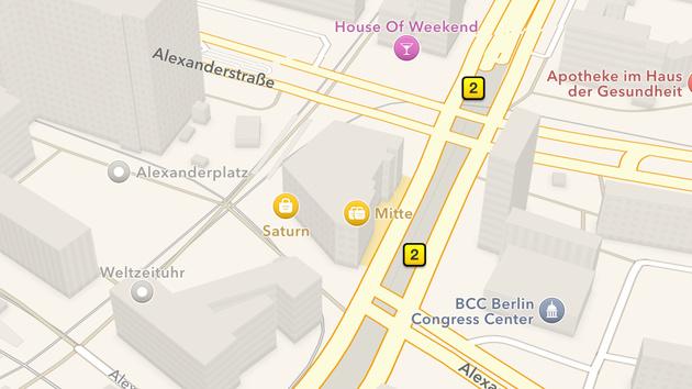 Maps: Apple informiert über Orte von Kamera-Fahrzeugen