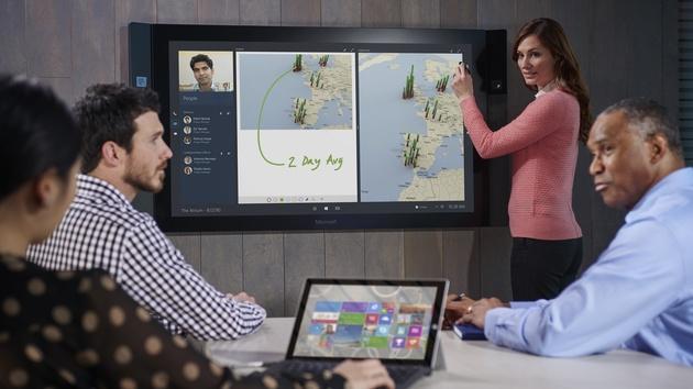 Surface Hub: Microsoft nimmt zum 1.Juli ab 7.896Euro Bestellungen an