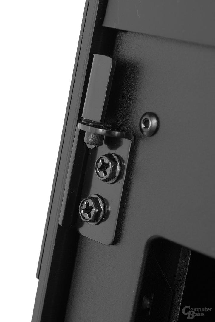 Antec Signature S10 – Scharnier im Detail