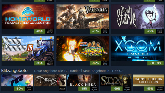 Steam Summer Sale: Valves sommerliche Rabattschlacht hat begonnen