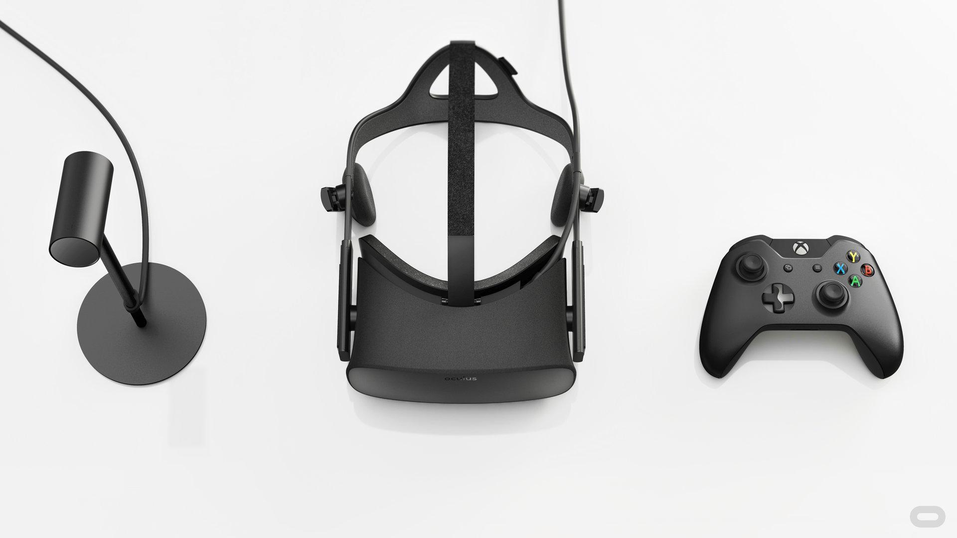 Tracking-Sensor, Oculus Rift und Controller