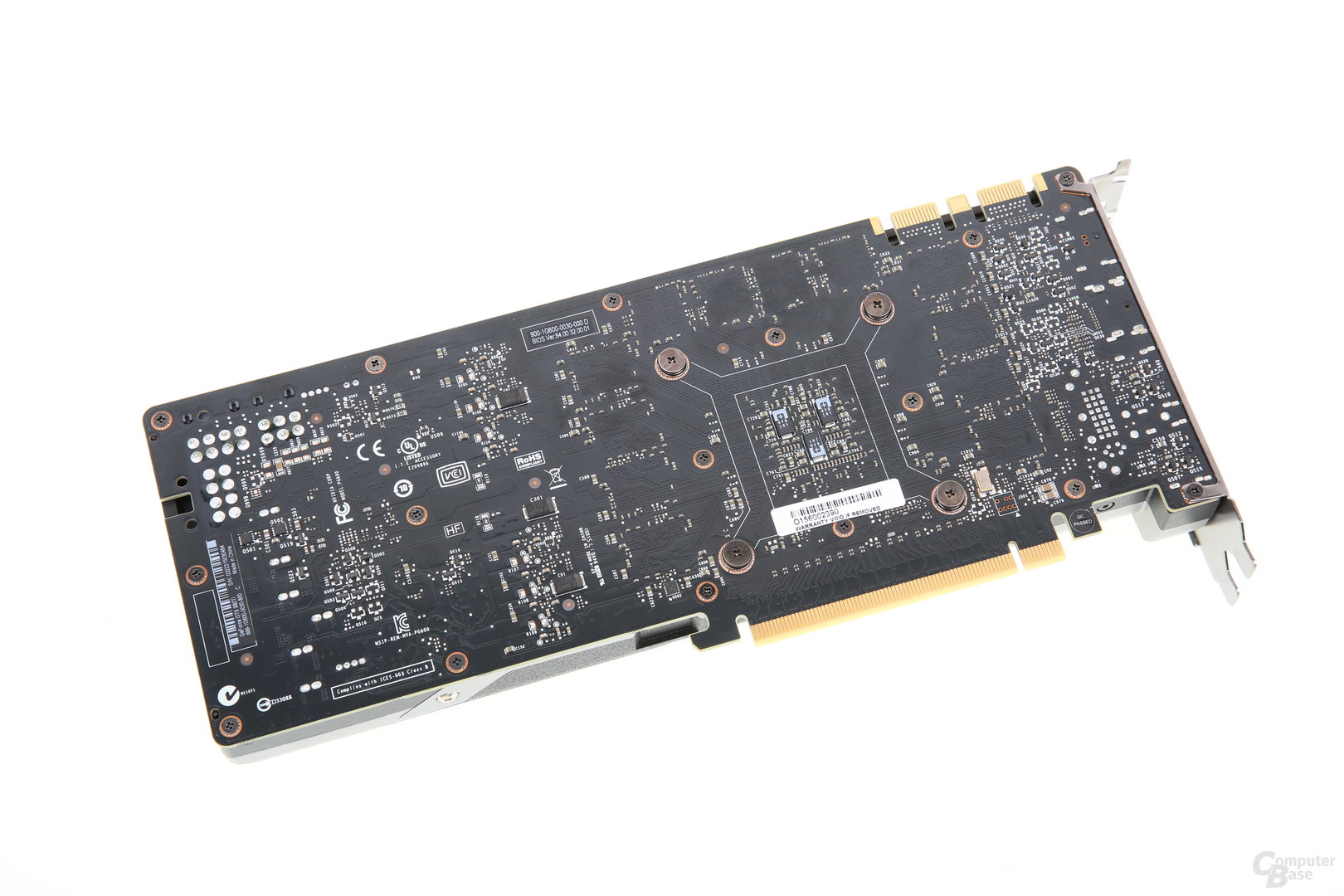 KFA² GeForce GTX 980 Ti - Rückseite