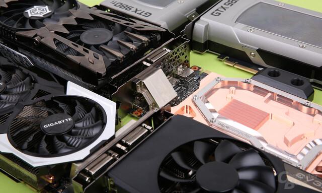 Fünf Partnerkarten der GeForce GTX 980 Ti im Vergleichstest
