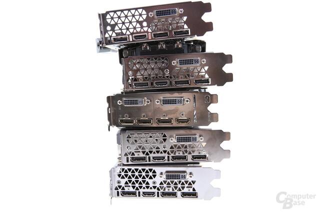 GeForce GTX 980 Ti – Anschlüsse