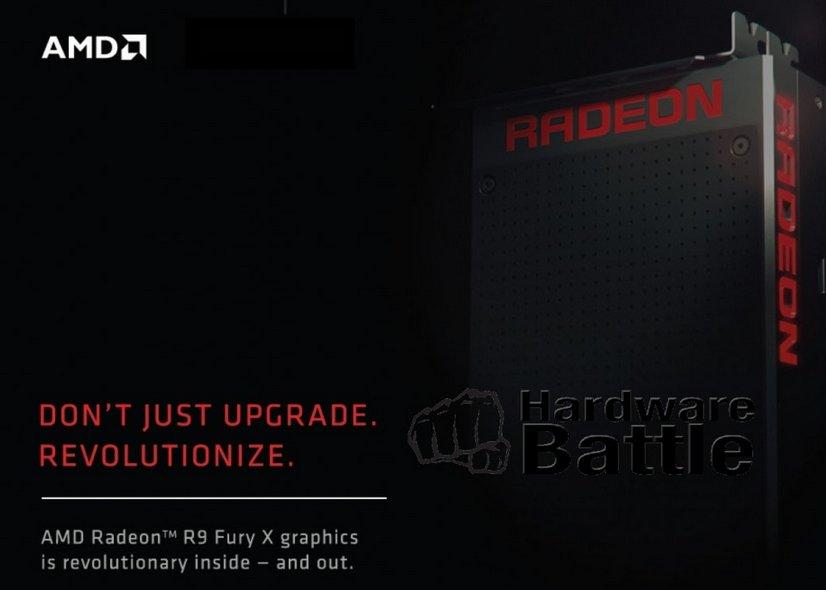 Folie nennt Radeon R9 Fury X als Namen