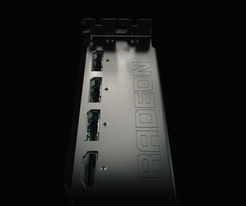 Videoausgänge der Radeon R9 Fury X