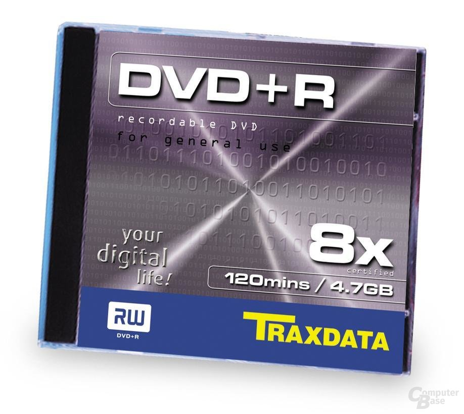 Traxdata 8x DVD+R Jewel Case