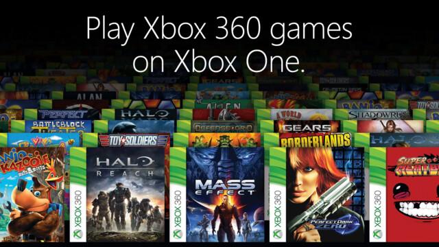 Zu Beginn sollen über 100 Spiele der Xbox 360 auf der Xbox One lauffähig sein