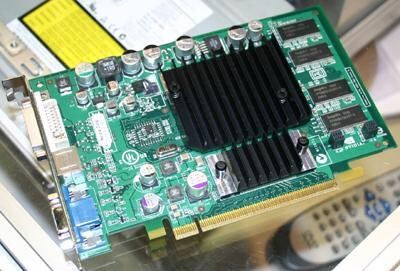 Leadtek GeForce FX 5200 mit PCI-Express