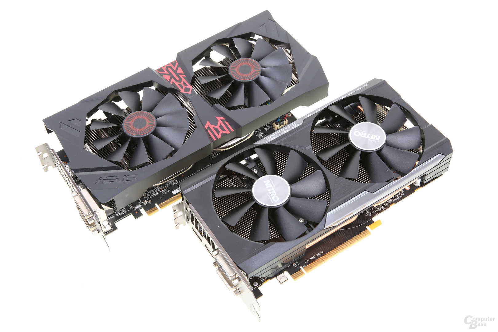 Asus Radeon R9 380 Strix und Sapphire Nitro R9 380
