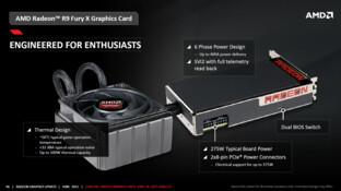 Fury-X-Wasserkühlung und Stromversorgung