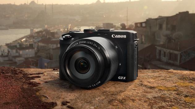 "Canon G3x: Superzoom-Kompaktkamera mit 1""-Sensor für 900 Euro"