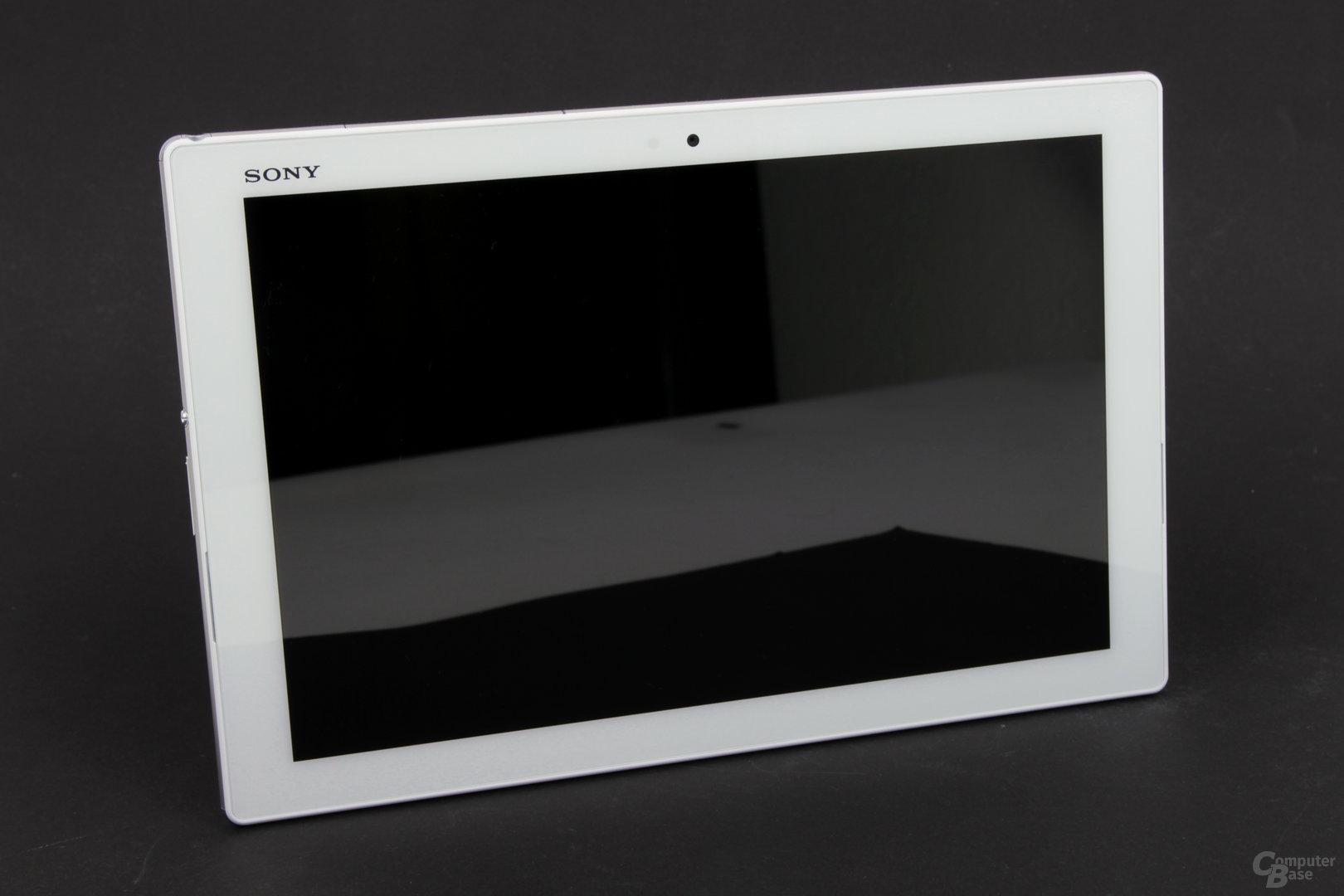 Bis auf das Sony-Logo mit sehr schlichtem Design