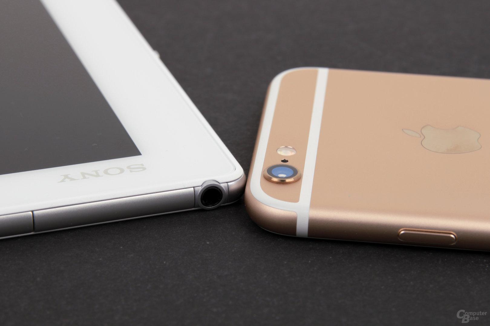 Das Xperia Z4 Tablet ist dünner als das iPhone 6