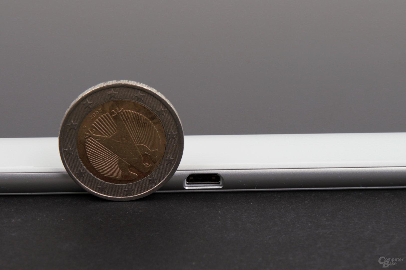 Das Xperia Z4 Tablet ist nur 6,1 mm dünn