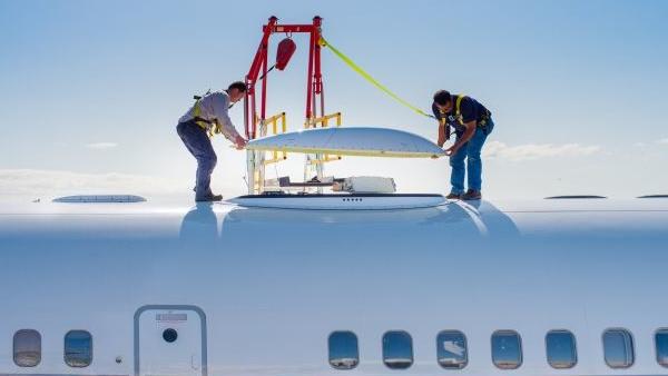 Internet im Flugzeug: Honeywell und Inmarsat testen Breitband-Dienst
