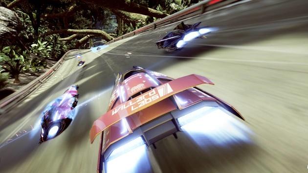 FAST Racing NEO: Futuristisches Rennspiel im WipEout-Stil für Wii U