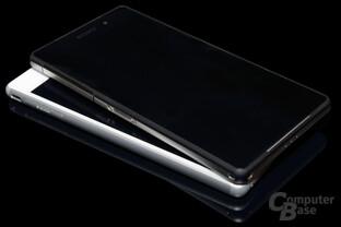 OmniBalance-Design im Vergleich: Xperia Z2 & M4 Aqua
