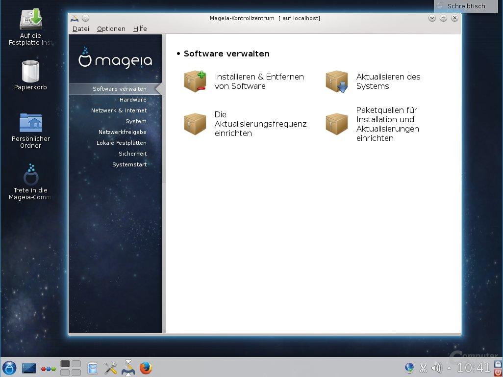 Softwareverwaltung