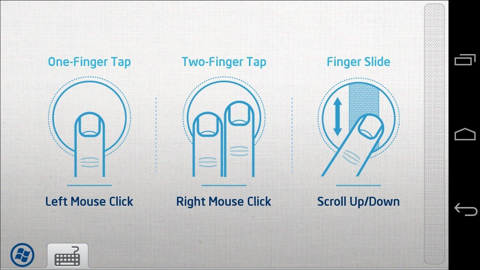 Intel Remote Keyboard für Android