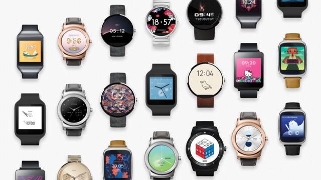 17 neue Zifferblätter für Android Wear