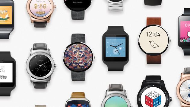 Android Wear: Neue Zifferblätter von Angry Birds über Hello Kitty bis Terminator