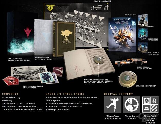 Die Inhalte der Collectors Edition auf einen Blick