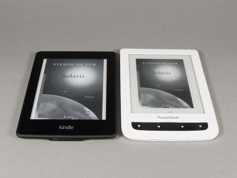 Größenvergleich Kindle Paperwhite 2 versus Touch Lux 3
