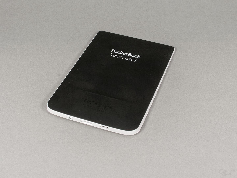 PocketBook Touch Lux 3: Gummierte Rückseite