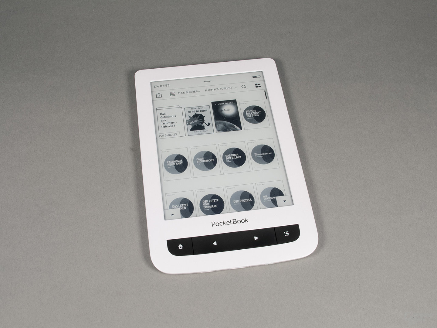 PocketBook Touch Lux 3: Bibliothek