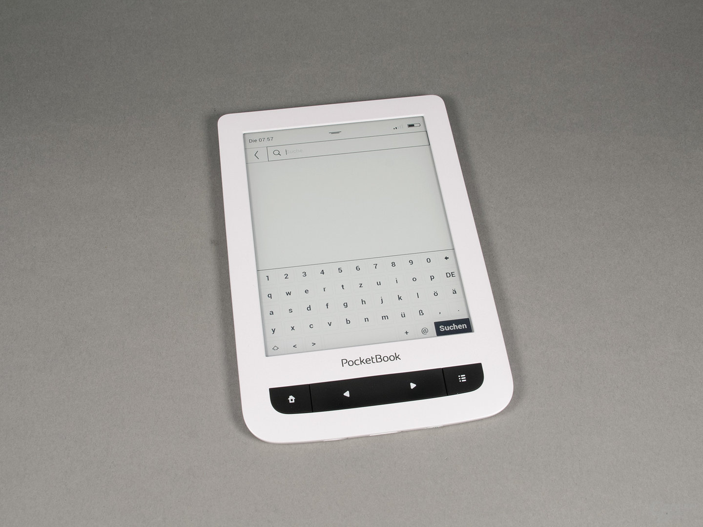 PocketBook Touch Lux 3: Gut bedienbare virtuelle Tastatur